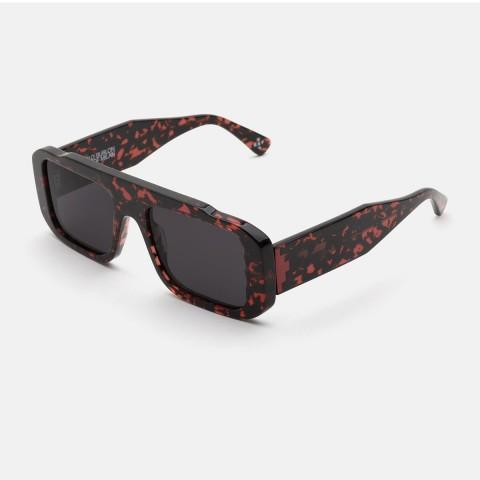Super Cruz Red Lava County of Milan By Marcelo Burlon | Unisex sunglasses