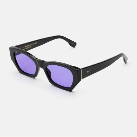 Super Amata Black Purple | Occhiali da sole Unisex