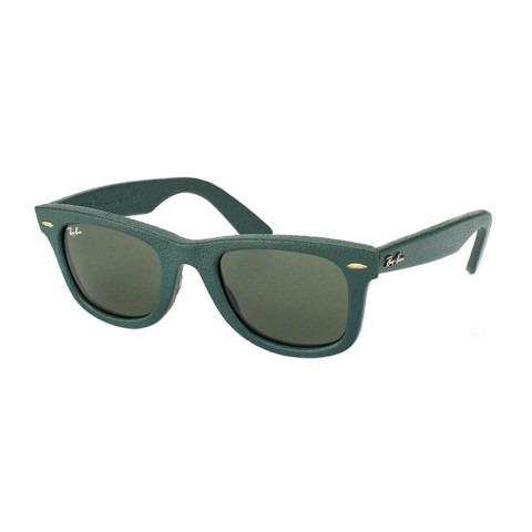 Ray Ban Wayferer Leather 2140QM | Occhiali da sole Unisex