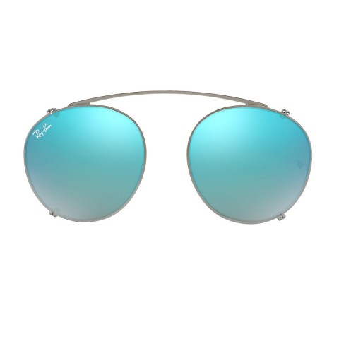 Ray-Ban Round Fleck Clip-on RB 2180C | Occhiali da sole Unisex