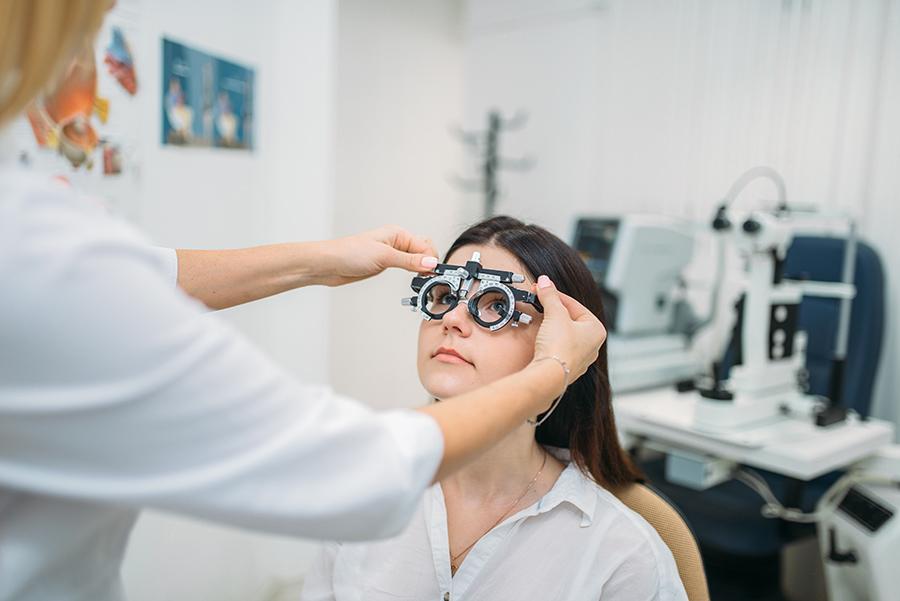 Esami optometrici presso lo Studio Ottica Lucciola a Formia